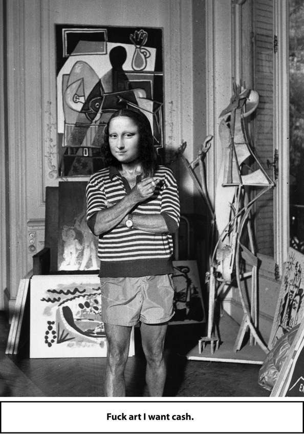 Picasso At Home