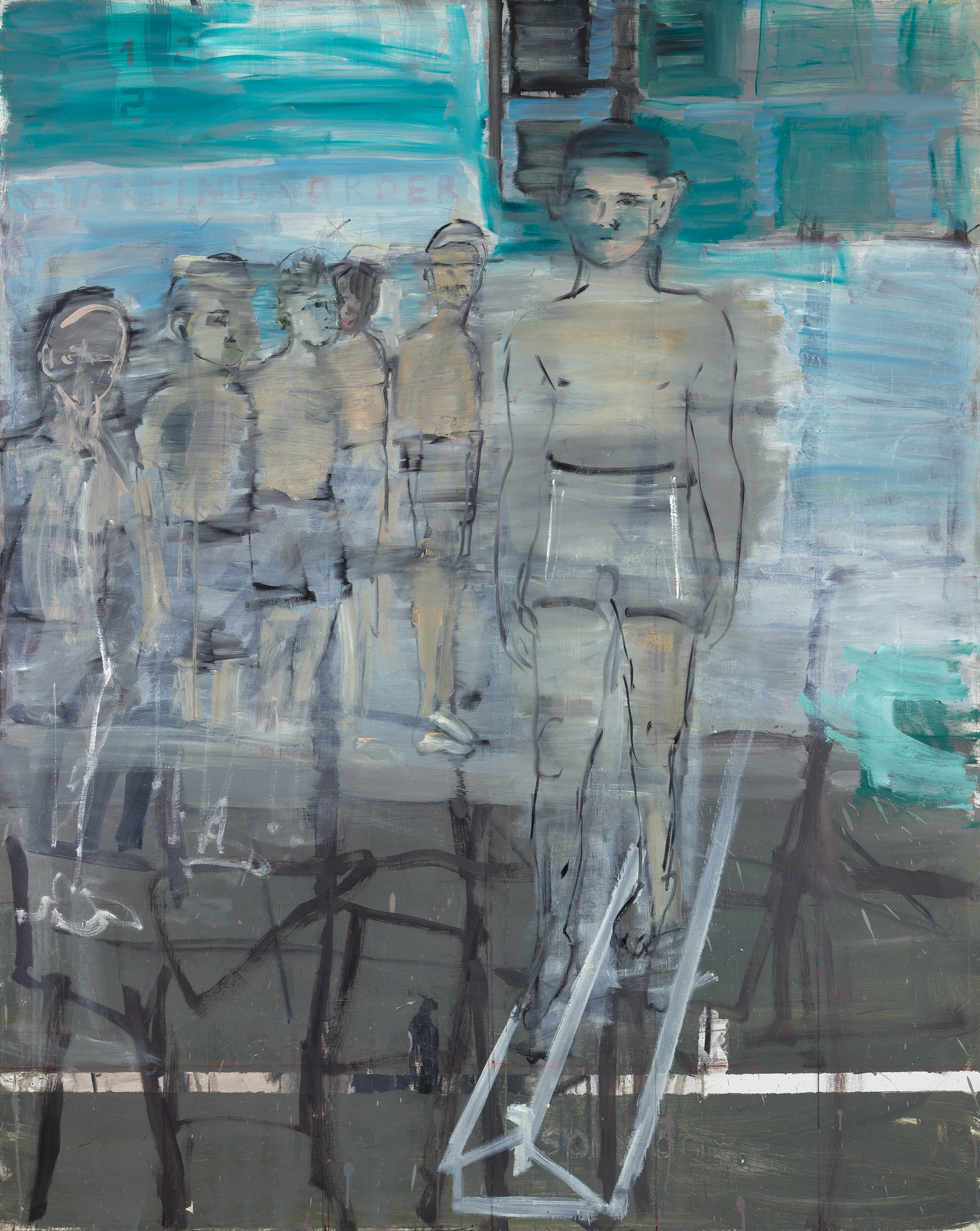 Eglė Butkutė. Patikra. Test. Aliejus, drobė. Oil on canvas. 150x120 cm, 2018 Ilčiuko nuotrauka