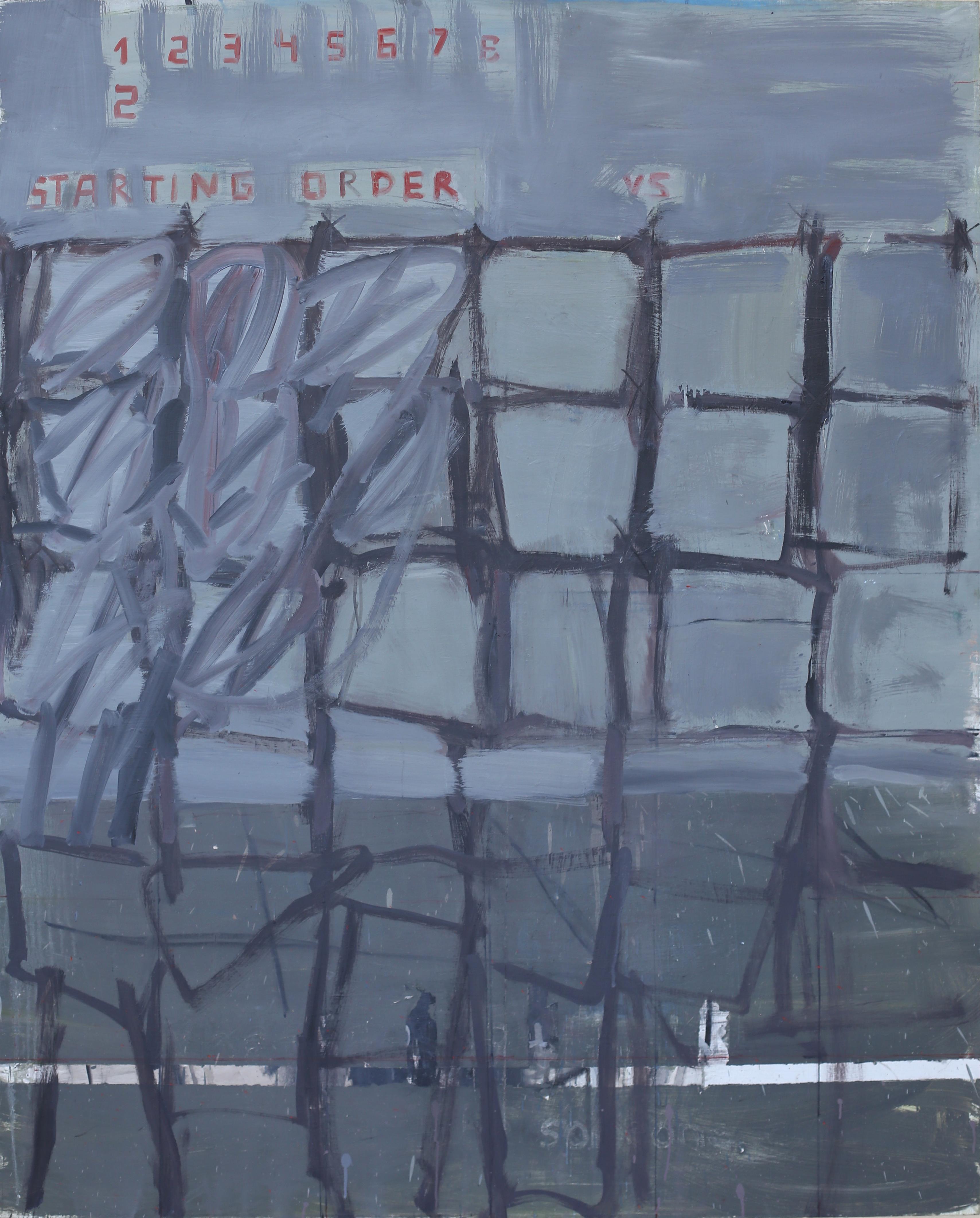 Eglė Butkutė. Tinklas. The net. Aliejus, drobė. Oil on canvas. 120x150. 2016
