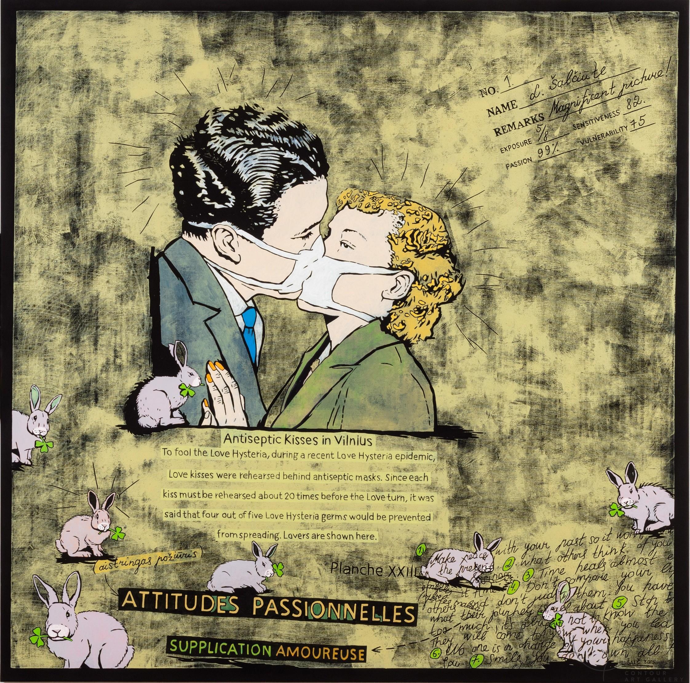 Melodramas. The Kiss.