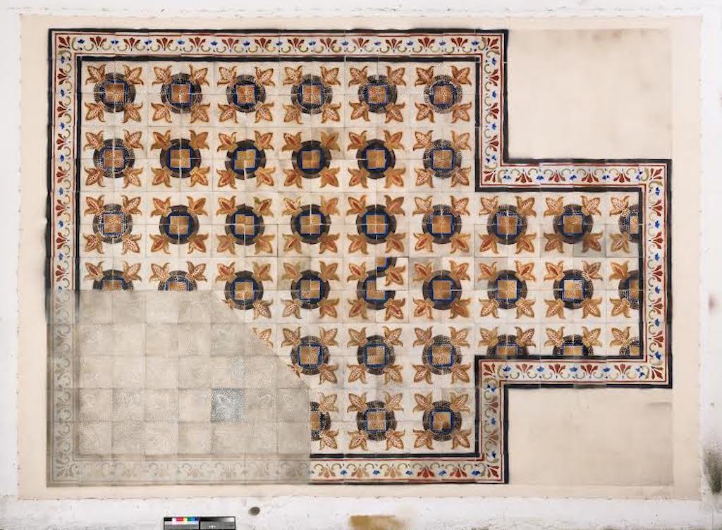 Cultural Floor. Near Agne's Place, 2015/16