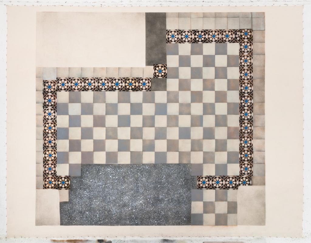 Cultural Floor. Entrance Near Andze, 2016