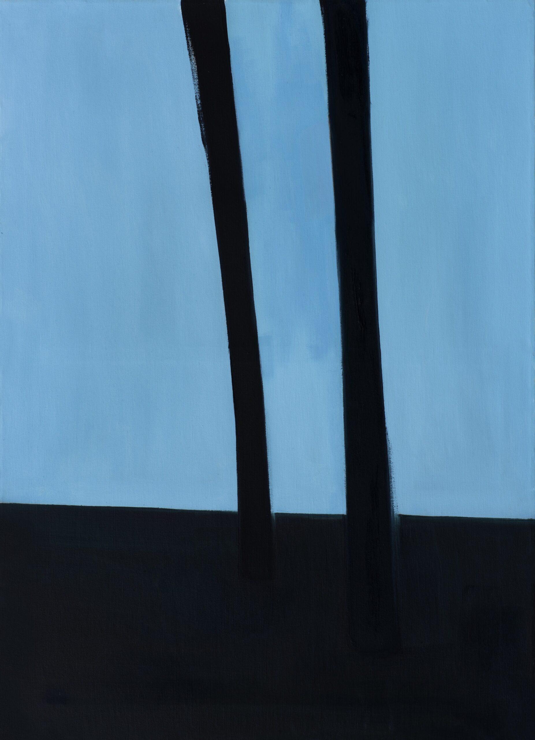 Vieta paukščių lizdams. 2015. Drobė, aliejus. 73,7x101,5