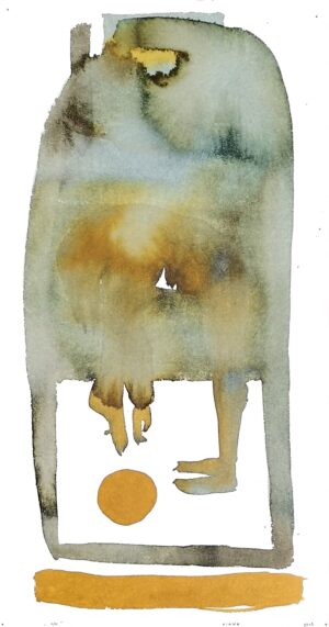 Games of The Minute. 4 out 4 watercolor. 37x19,5cm. 2019