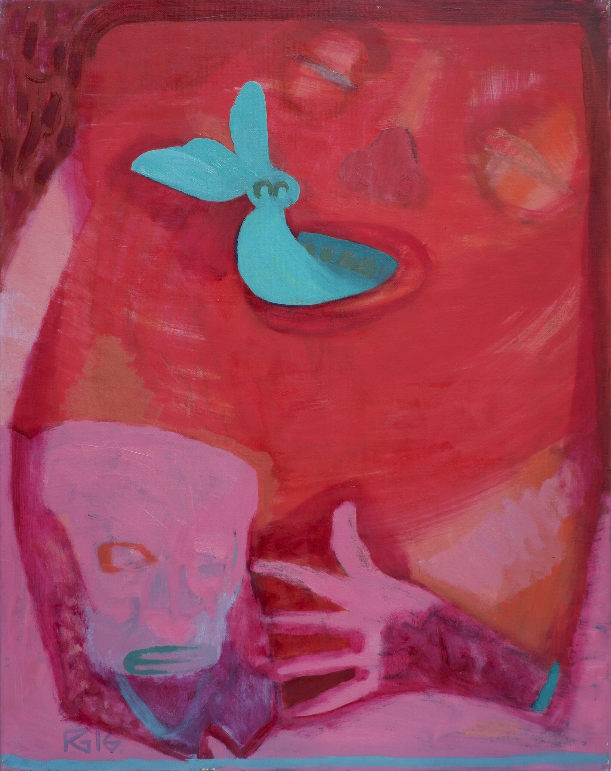 raimondas gailiūnas angis tapyba