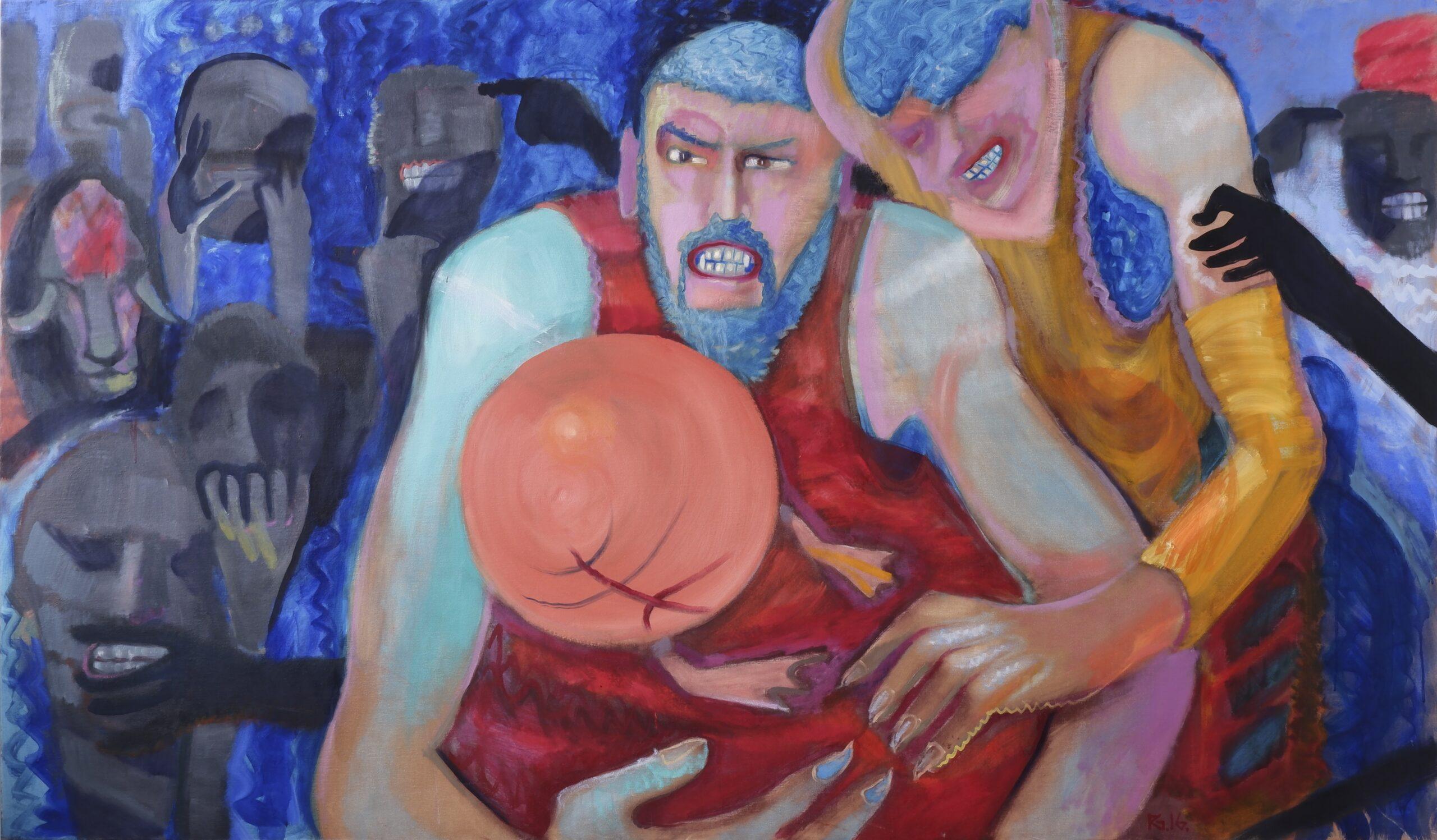 raimondas gailiūnas, angis, tapyba, Mo muziejus