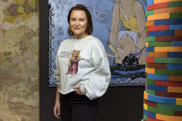 Limited edition sweatshirt, designed by Contour Art Gallery